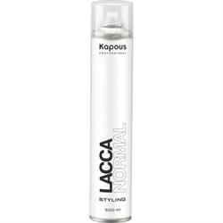 Kapous Лак для волос нормальная фиксация 500 мл - фото 10384
