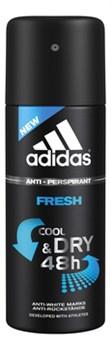 Coty Адидас Action 3 Антиперспирант спрей Dry Max МУЖ FRESH 150 мл - фото 44415