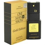 JACQUES BOGART ONE MAN SHOW Gold Edition men 100ml edt