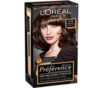 Л`Ореаль Краска для волос Преференс 4.15 (М-1) Темный каштан