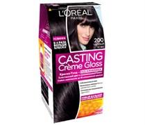 Л`Ореаль Краска для волос Кастинг 200 черное дерево