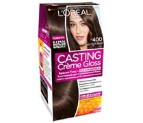 Л`Ореаль Краска для волос Кастинг 400 каштан