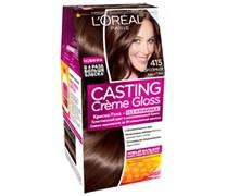 Л`Ореаль Краска для волос Кастинг 415 морозный каштан