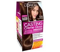Л`Ореаль Краска для волос Кастинг 535 Шоколад