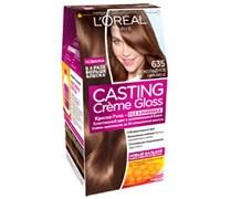 Л`Ореаль Краска для волос Кастинг 635 шоколадный пралине