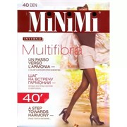MiNiMi Колготки Multifibra 40 MOKA 2