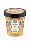 """Crazy dessert скраб-bio д/тела подтягивающий""""соленый мед"""" 450 мл"""