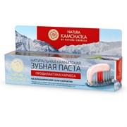 """Natura Kamchatka Паста зубная """"профилактика КАРИЕСА для всей семьи"""" 100 мл"""