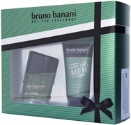 BRUNO BANANI MADE FOR MAN набор (т.в.30мл+гель д/ душа)