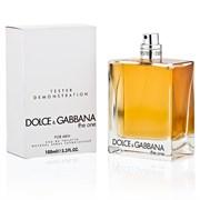 DOLCE & GABBANA THE ONE for men TEST 100 ml edt