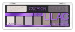 CATRICE Набор теней д/век 9в1 LILAC 010 пурпурные