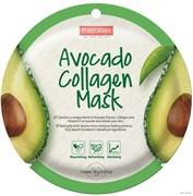 Pure Derm  Коллагеновая маска с экстрактом АВОКАДО