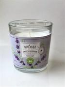 Aroma Harmony Свеча в стакане аромат.ЛАВАНДА 160 гр