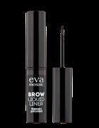 EVA  Подводка для БРОВЕЙ Brow Liquid Liner Серо-коричневая