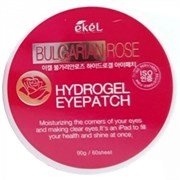 EKEL Патчи для глаз BULGARIAN ROSE с розой 60 шт