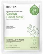 BEOTUA Маска Тканевая для лица с экстрактом Кактуса