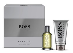 BOSS BOTTLED men set (50ml edt + 100ml sh/gel)